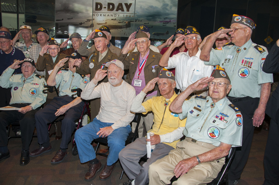 Saint Louis Science Center Honors Veterans with Launch of D-Day: Normandy 1944