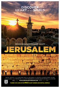 National Geographic's Outreach Campaign for Jerusalem