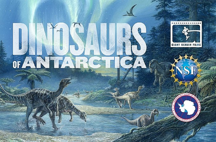 Giant Screen Films Dinosaurs Of Antarctica To Premiere February 2020