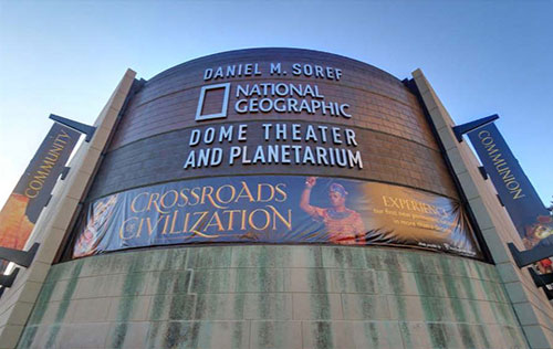Milwaukee Public Museum's Dome Theater and Planetarium First